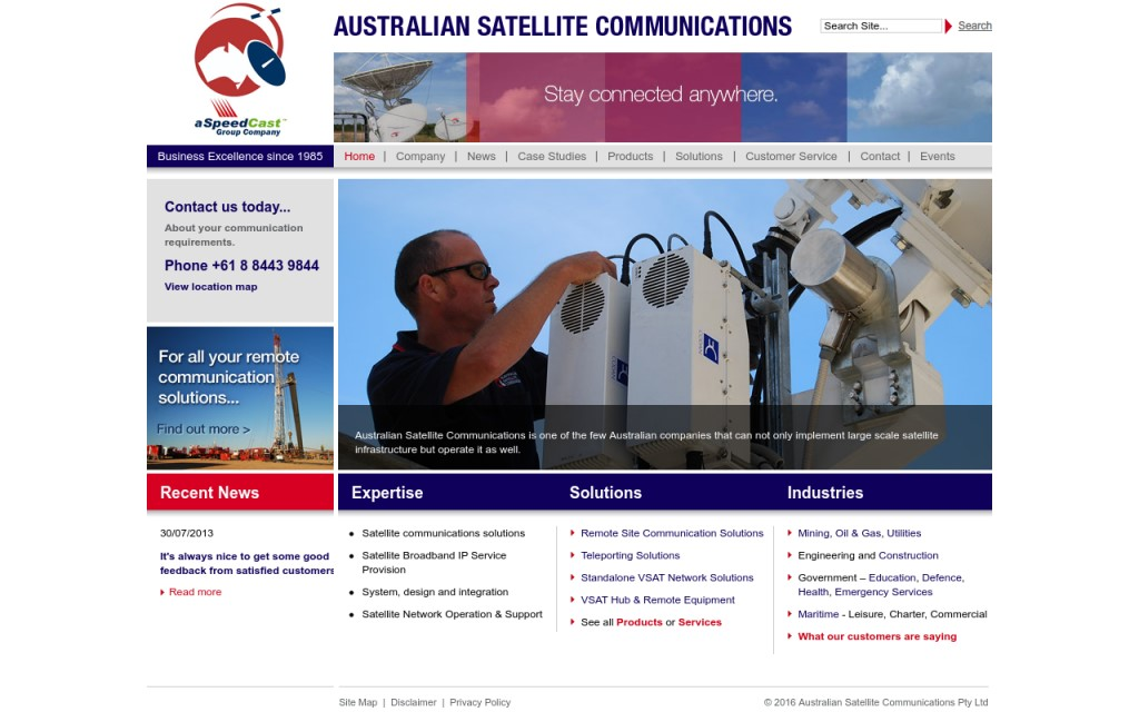 Australian Satellite Services